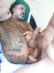 Mickey Collins gets so hot while sucking Bo Bangor cock - Gay porn pics at GayStick.com