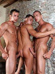 Italian stallion Max and Czech superstar Vilem are a match made in heaven - Gay porn pics at GayStick.com