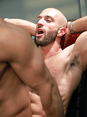 Bruno resorts to forceful action in order to get him exactly where he wants - Gay porn pics at Gaystick