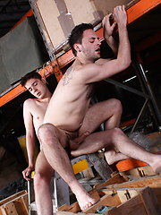 Filthy Warehouse Fuckers! - Gay porn pics at GayStick.com