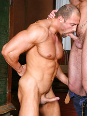 Tomas Friedel is hanging out at the port when Toby Dutch passes by - Gay porn pics at GayStick.com