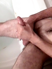 Straight Slim Duke Gets Sticky - Gay porn pics at GayStick.com