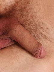 Michael House stroking his small hard cock. - Gay porn pics at GayStick.com