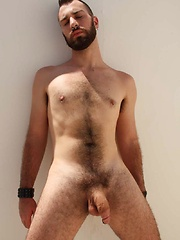 Bottom-boy Dominik August is primed for his hot nude photo shoot - Gay porn pics at GayStick.com