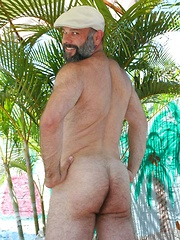 Sean Travis looks so good as he tugs on his firm piece of man meat - Gay porn pics at GayStick.com