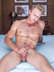 Gym Hunk, Jamie Pavel fingers his virgin hole. - Gay porn pics at GayStick.com