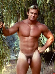 With his uber-muscular and blonde surfer looks, COLT Man Devlin has a unique approachable image all his own - Gay porn pics at GayStick.com