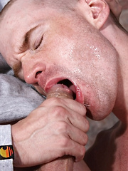Head Shaved And Face Fucked! - Gay porn pics at GayStick.com