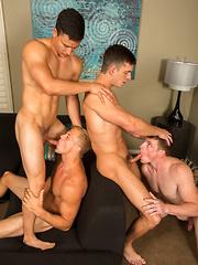 Four-Way Part 1 - Gay porn pics at GayStick.com