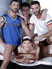 Cock-Mad Johny Cruz Enjoys An Unbelievable Triple Penetration! - Gay porn pics at GayStick.com