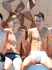 Bareback Twink Boy Orgy! - Gay porn pics at Gaystick