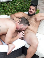 Lanz Adams and Randy Taintmoore - Gay porn pics at Gaystick
