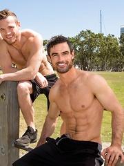 Daniel & Sean: Bareback - Gay porn pics at GayStick.com